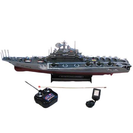 Radiostyrda båtar - Challenger - Hangarfartyg - RTR