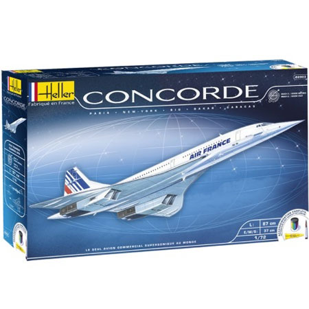 Byggmodell - Concorde - 1:72