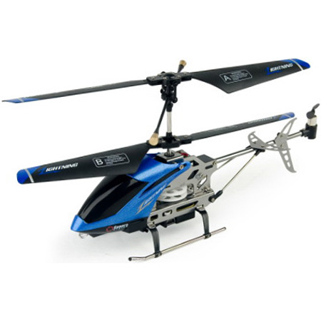Radiostyrda Helikoptrar - Moviecopter C7 - Metall + gyro - 3,5ch - RTF