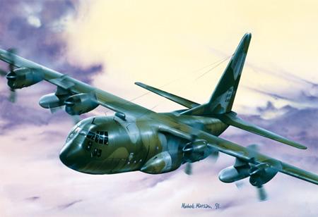 Modellflygplan - C-130 Hercules E/H - 1:72 - Italeri