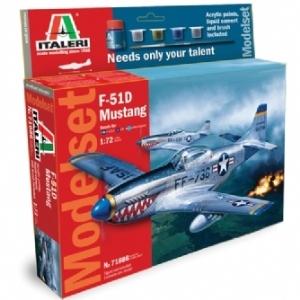 Modellflygplan - F51 D MUSTANG - Model set - 1:72 - Italeri