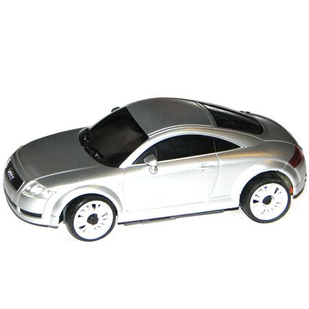 Radiostyrda bilar - 1:28 - Iwaver 02M Audi - 2,4Ghz - LCD - Silver - RTR