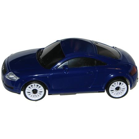 Radiostyrda bilar - 1:28 - Iwaver 02M Audi TT - 2,4Ghz - LCD - Blå - RTR
