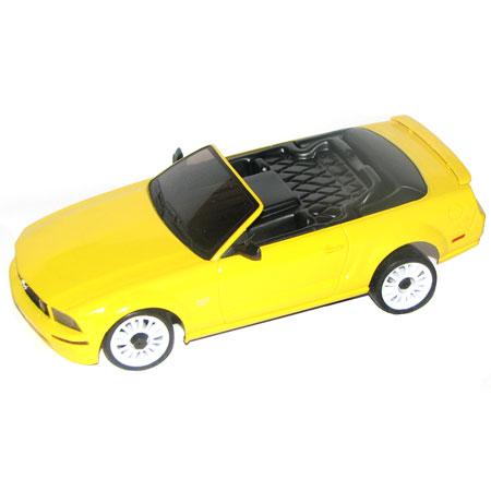 Radiostyrda bilar - 1:28 - Iwaver 02M Ford Mustang - 2,4Ghz - LCD - Gul - RTR