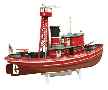 Modellbåtar - Fire boat - 1:72 - Lindberg
