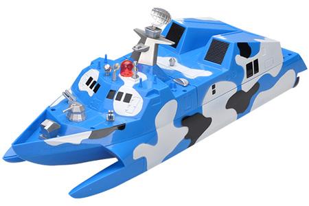 Radiostyrd båt - Patrull missilbåt Type 022 - 2,4Ghz - RTR
