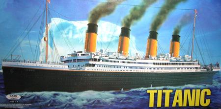 Modellbåt - Titanic - HobbyBoss - 1:550
