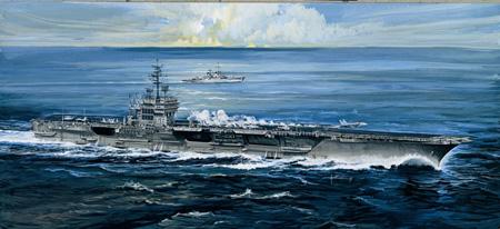 Modellbåt - U.S.S. America - Italeri - 1:720