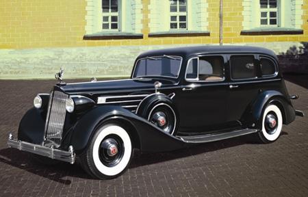 Modellbil - Packard Twelve Mod. 1936 - ICM - 1:35