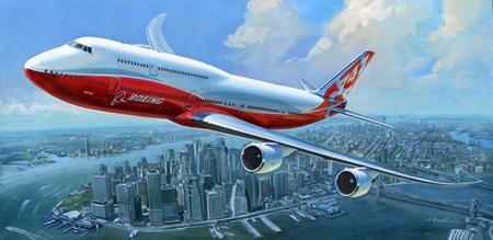 Modellflygplan - Boeing 747-8 - Zvezda - 1:144