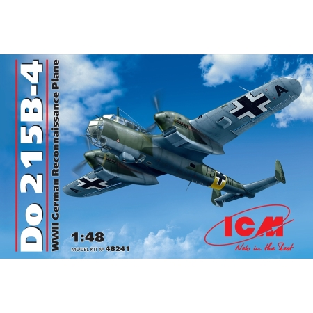 Modellflygplan - Do.215 B-4, Reconnaissance Aircraft - 1:48