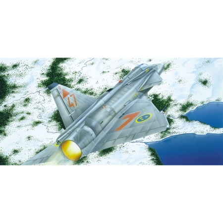 Modellflygplan - JA 37 JAKTVIGGEN - 1:72