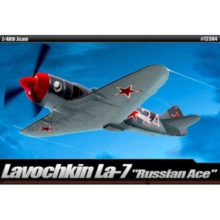 Modellflygplan - Lavochkin LA-7 Russian ACE LIM. ED. - 1:48