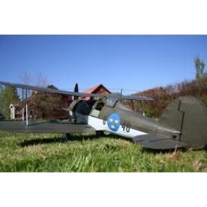 Modellflygplan - RAF Gladiator incl. SE decal (J8 SE airforcet) - 1:72