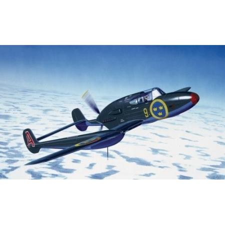 Modellflygplan - SAAB J21 - 1:72