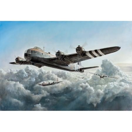 Modellflygplan - Stirling MH.IV glidertug / oar. transp. - 1:72