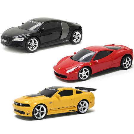 Radiostyrda bilar - 1:24 - New Bright Street Cars - RTR