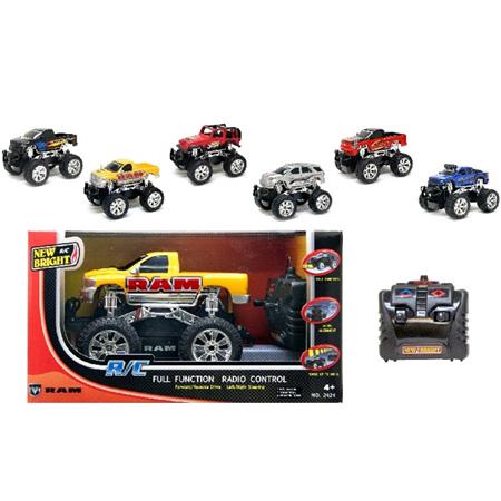 Radiostyrda bilar - 1:24 - New Bright RC Trucks - RTR