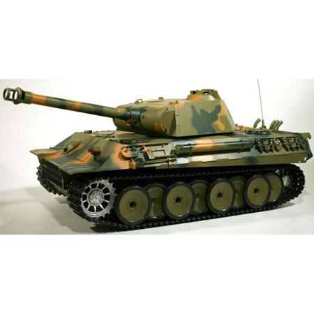 Radiostyrd stridsvagn - 1:16 - PanterTank - 2,4Ghz - s.airg. rök & ljud - RTR