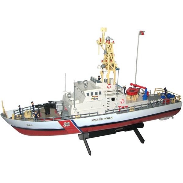 Demo 10030 - Radiostyrda båtar - Patrullbåt - RTR