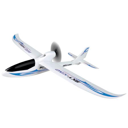 Nybörjar Flygplan - Sky King 2,4Ghz - Blå - 3ch - EPO -  RTF