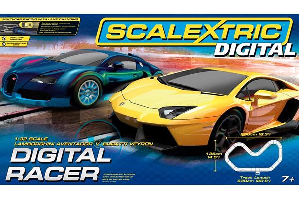 Bilbana Scalextric - Digital Racer - 1:32 - Inkl. Bilar