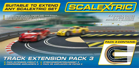 Scalextric bilbana - Track Extension Pack 3
