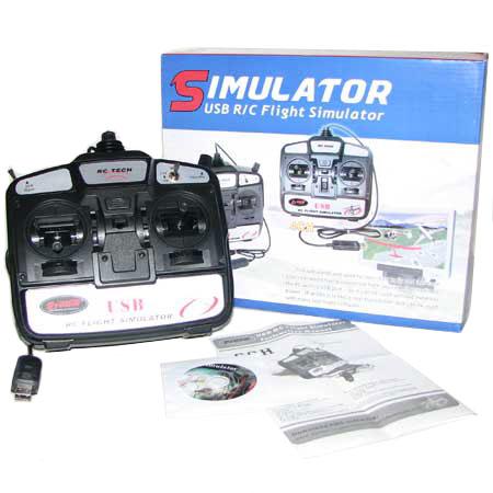USB Simulator radio - 6 Kanals - DY - RTF