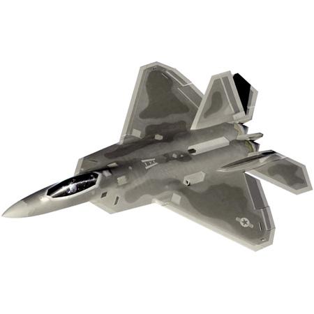 Silverlit X-twin F22 Raptor Jet, 2-kanals, Li-Po, steglös