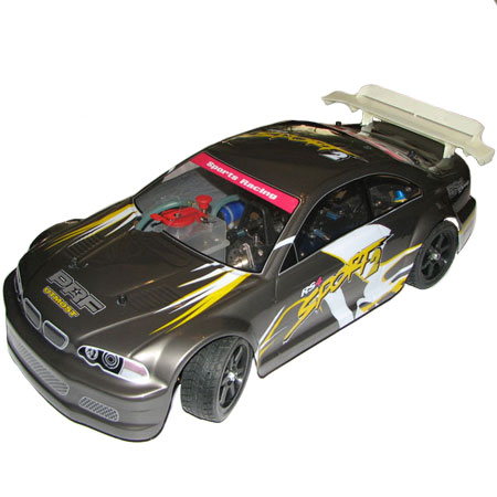 Metanol bil - 1:10 - Sprint - 18Cxp - 2,4Ghz - RTR