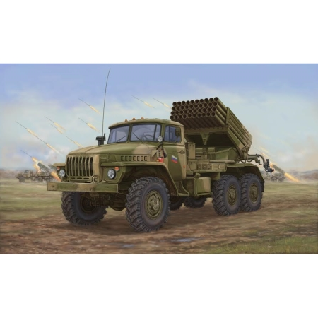 stridsfordon - Russian BM-21 Hail MRL -Late - 1:35