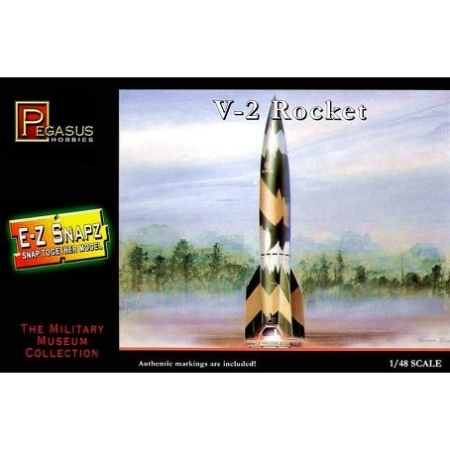 Stridsfordon - V-2 Rocket SNAP - 1:48