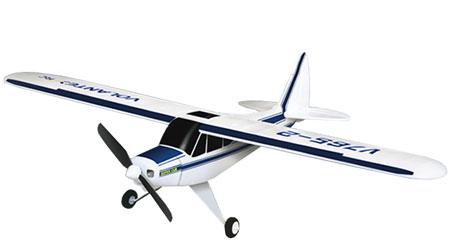 Flygplan - Super Cub 2,4Ghz BL + Sim - Borstlöst - 4ch - EPO -  RTF