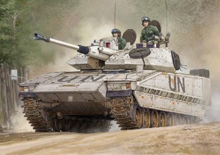 Byggmodell Stridsvagn - Swedish Strv. CV90-40C IFV/W - HobbyBoss - 1:35