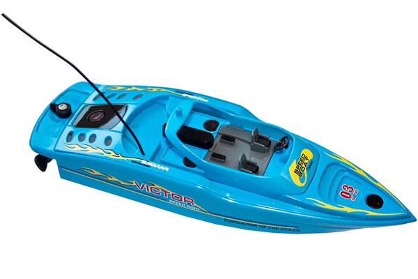 Radiostyrd båt - 1:48 - TopRaiders Micro Speedboat - RTR