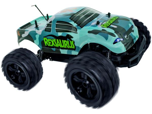 Radiostyrd bil - 1:8 - RexSaurus - RTR