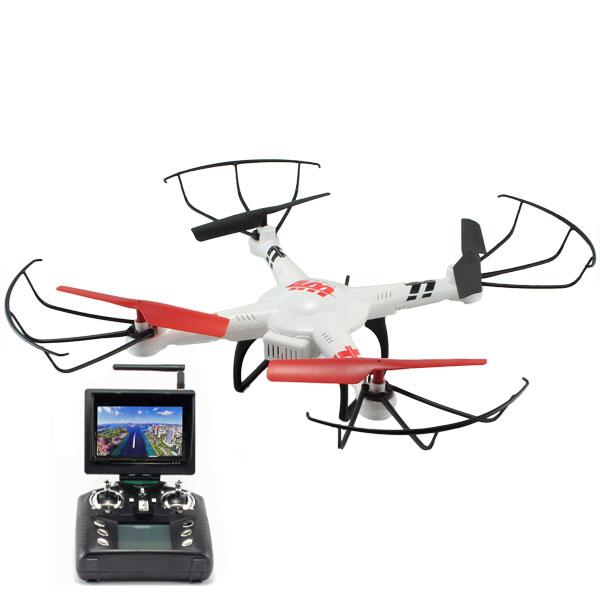 Radiostyrd Quadrocopter - FPV Headless V686G Explorer - Kamera - RTF