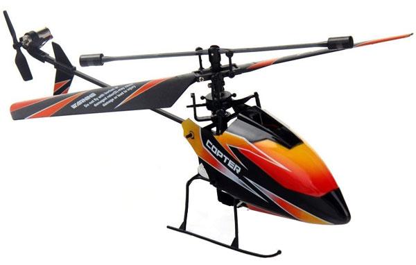 Radiostyrd helikopter - V911 BL - 2,4Ghz - Gyro - 4ch - RTF