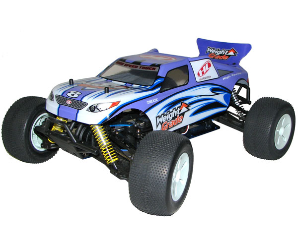 Metanol bil - 1:10 - Weight Grade Nitro 4wd - 2,4Ghz - RTR