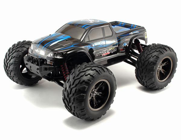 Radiostyrd bil - 1:12 - Wild Challenger 2WD - 2,4Ghz - Blå - RTR